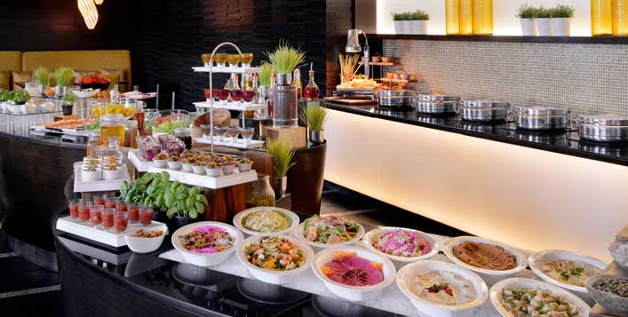 Market Place restaurant, Marriott Al Jaddaf
