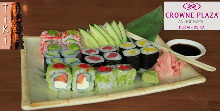 All-You-Can-Eat Maki Roll @Crowne Plaza Deira