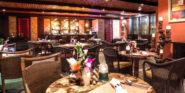 Dine in a relaxed and gracious ambiance