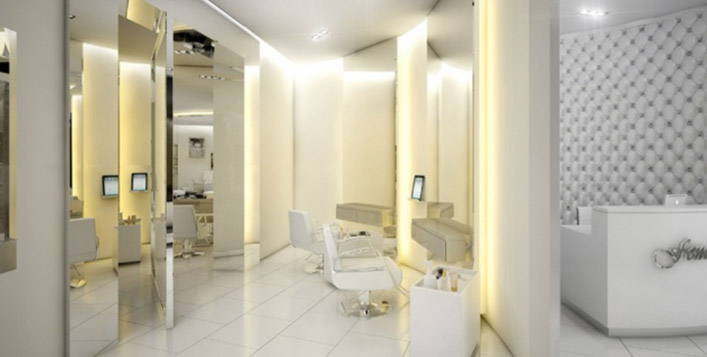 Haircut, manicure, eyebrow threading & more!