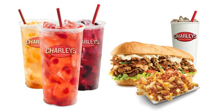Charley's Grilled Subs + Fries and Drink