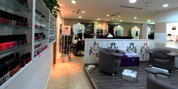 Caviar treatment, hair colour and more!