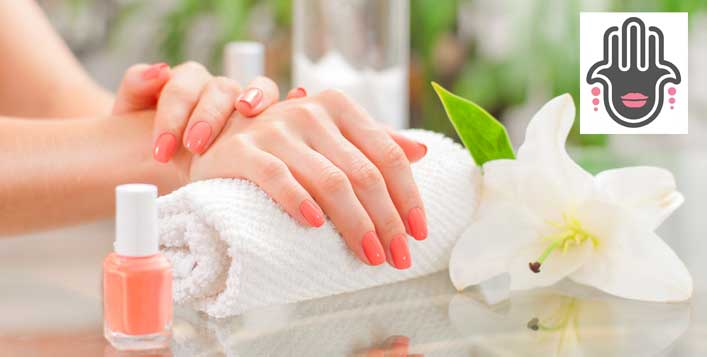Classic or gelish options with feet therapy