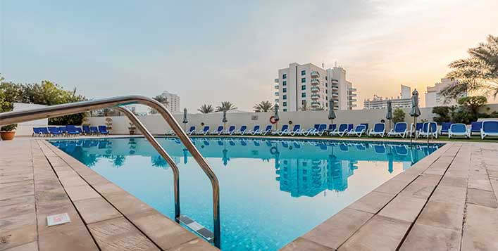 For up to 4 or 6 people at Arabian Park Hotel
