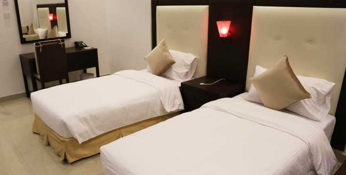 1 or 2 Night stay with relaxation treatment