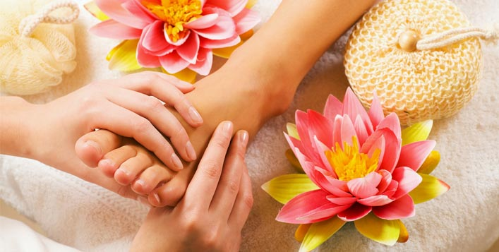 Foot Reflexology at Kacy Beauty Salon, JBR