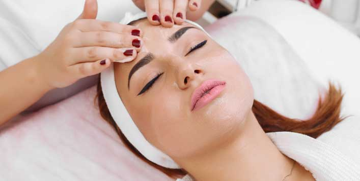 Facial Packages at Mirrors Beauty Lounge