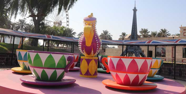 1 Day park access with Moroccan set menu
