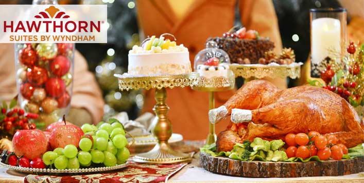 Christmas & New Year Buffet @Hawthorn Suites