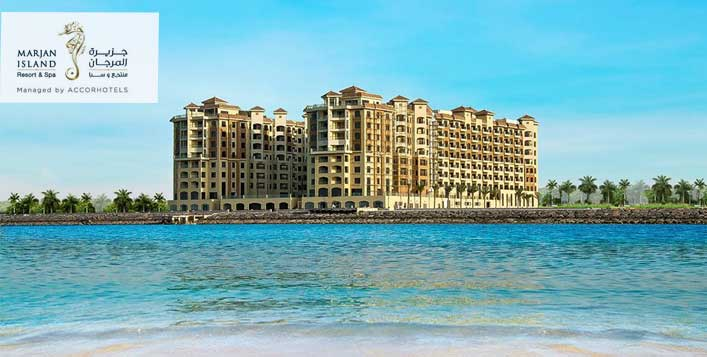 Half Board Stay at Marjan Island Resort & Spa