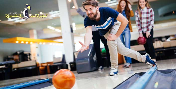 2 Games of Bowling at Al Nasr Leisureland