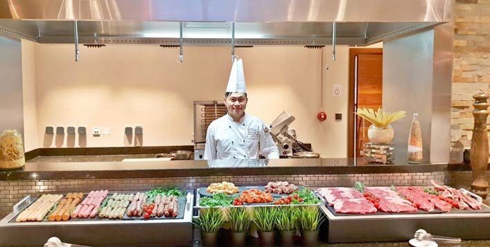 Thursdays at Hilton Garden Inn, Al Muraqabat