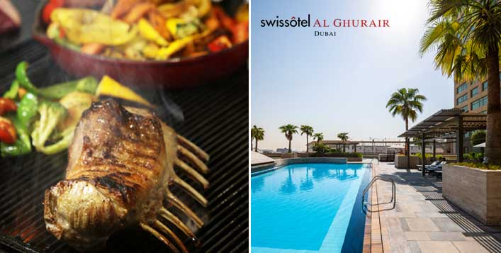 5* Swissôtel Al Ghurair Lunch Buffet