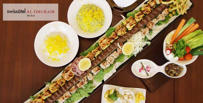 Save Up to 41% @Shayan Restaurant, Swissôtel