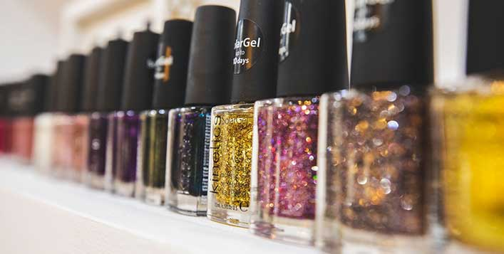 Classic and gelish mani-pedi available