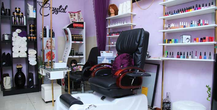 Daily at MUA Crystal Ladies Salon