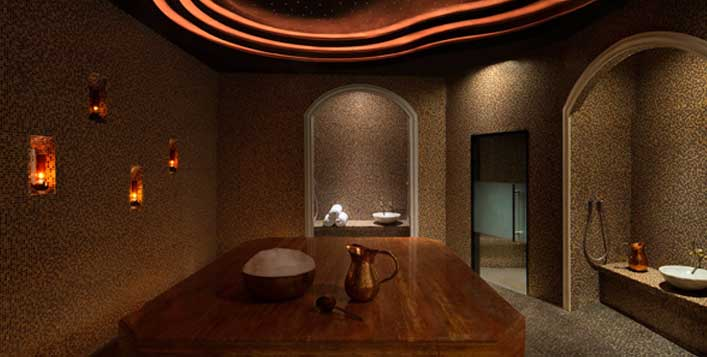 Relaxation, hammam, gym, pool & more!