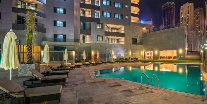 Access to swimming pool included!
