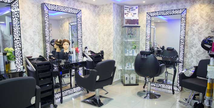 Daily at Glamours Touch Ladies Salon