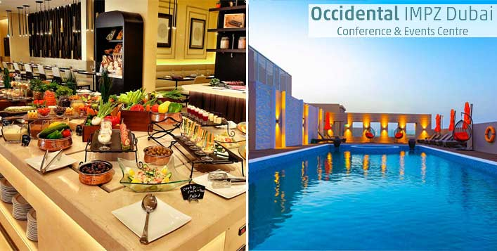 Optional AED 55 voucher to spend on F&B