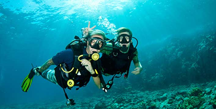 Explore the seabed with 150-minute scuba dive