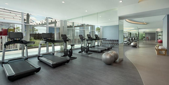 Includes access to gym, pool, sauna & more!