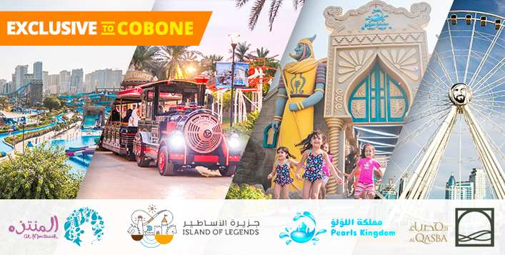 Only On Cobone! 4 Parks Access