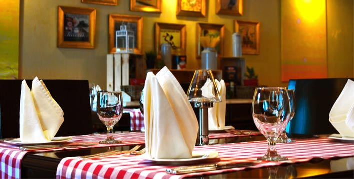 Romantic dining experience at Ciao Ristorante