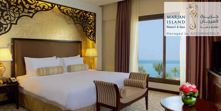Full Board Stay at Marjan Island Resort & Spa