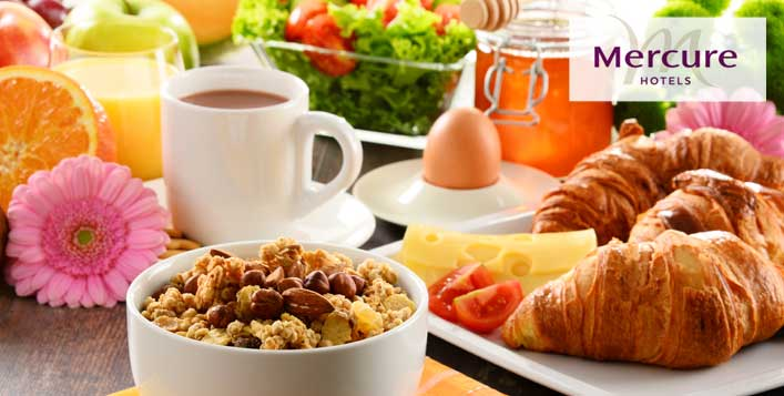 Breakfast Buffet at Mercure Hotel Suites