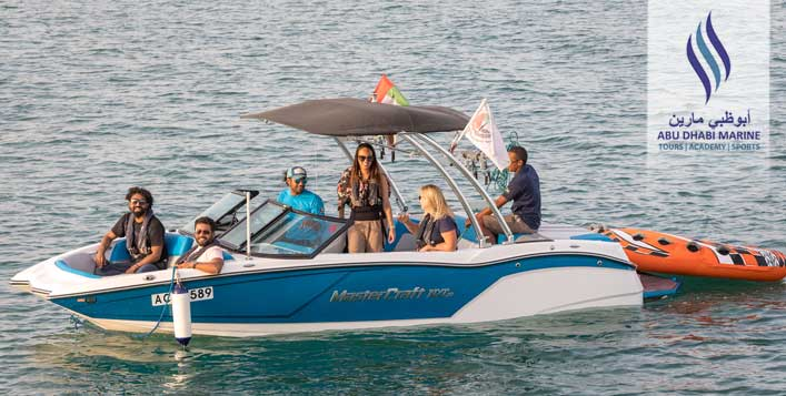 For up to 9 people from Abu Dhabi Marine