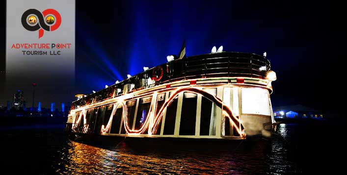 Cruise on a glass boat with entertainment
