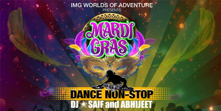 IMG Worlds of Adventure Mardi Gras Pass