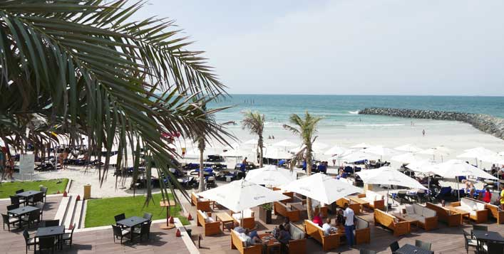 Valid at Bab al Bahr Beach Bar & Grill