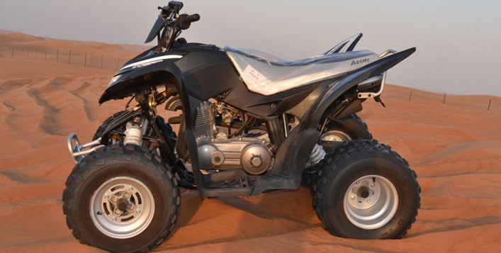 Available in 30 or 60 minutes quad biking