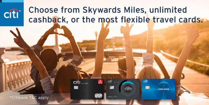 Get up to AED 800 with Citi Credit Cards