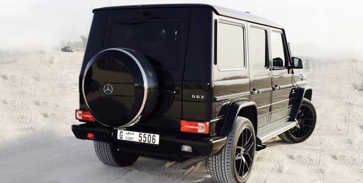 Drive a Mercedes G 63 today!