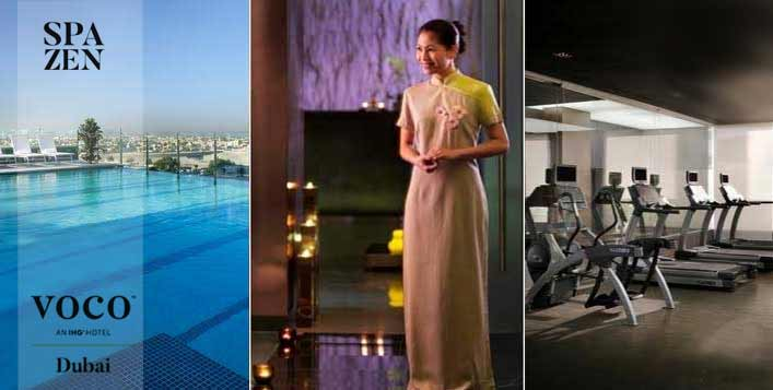 Optional gym & pool access & body treatments