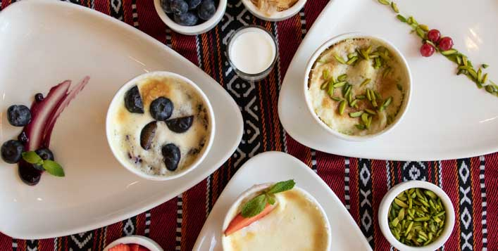 Arabi, Mediterranean dishes and more