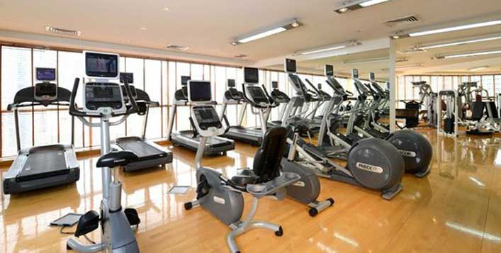 Includes access to steam, sauna, gym & more!