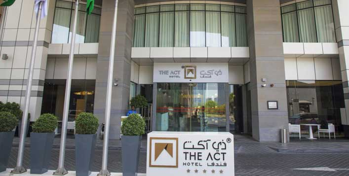 1 Night stay at The Act Hotel or 72 Hotel