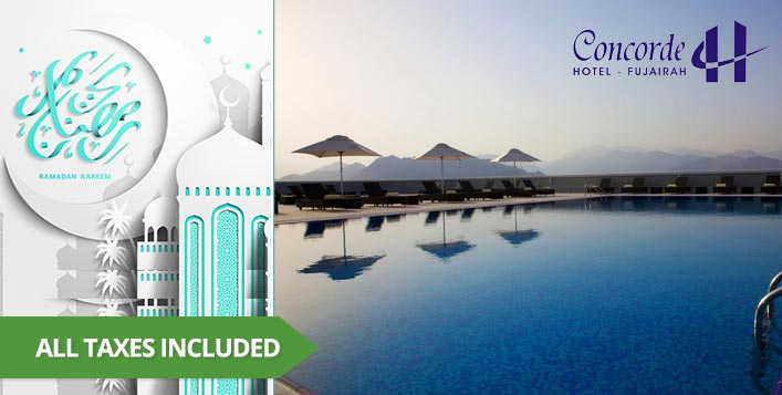 Includes Iftar, Suhoor, pool access & more