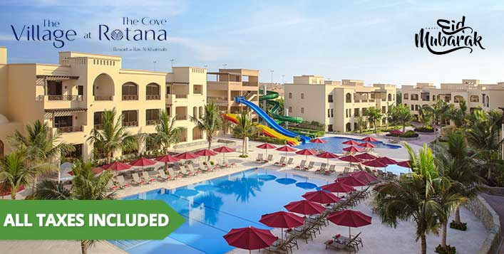 1 or 2 Nights at Cove Rotana Resort