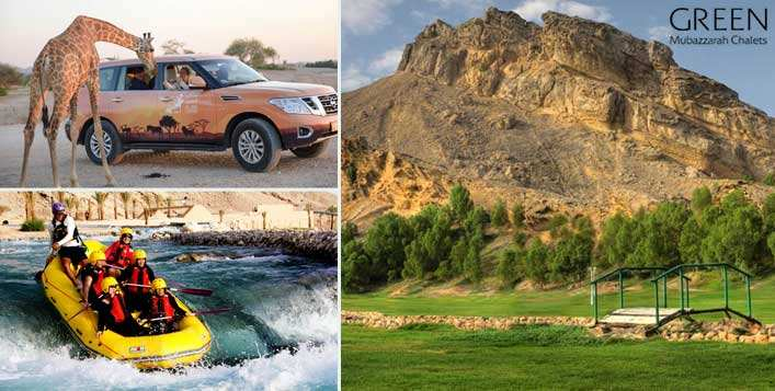 Wadi Adventure or Al Ain Zoo tickets