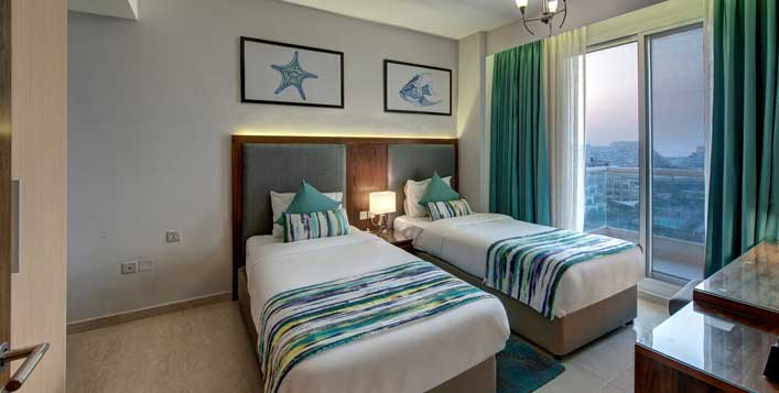 Half or full board stay in a Deluxe room