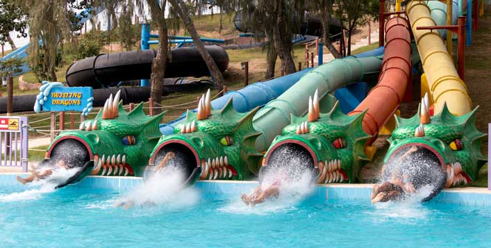 Dreamland tickets and water activities
