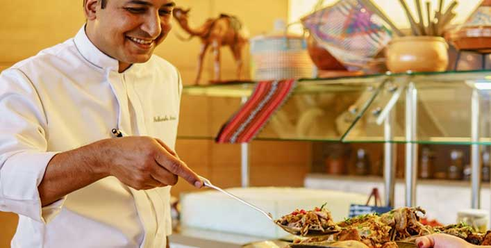 Daily at Marriott Al Forsan Hotel