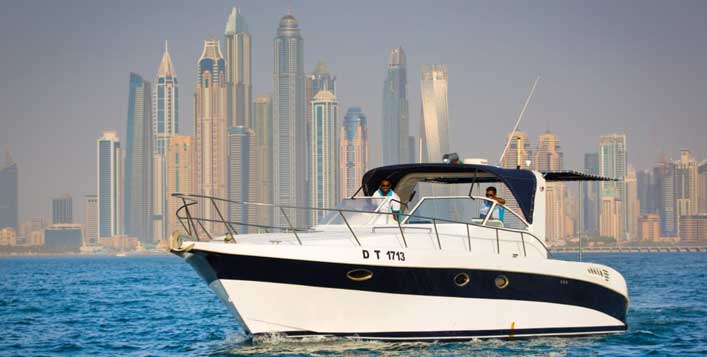 Choose from a variety of yacht sizes