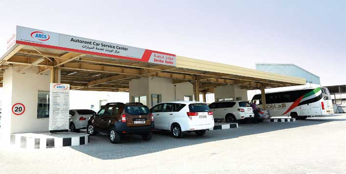 Autorent Car Service Center, Al Quoz