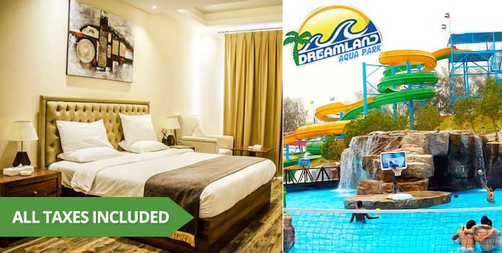 Optional Dreamland tickets and hotel day use
